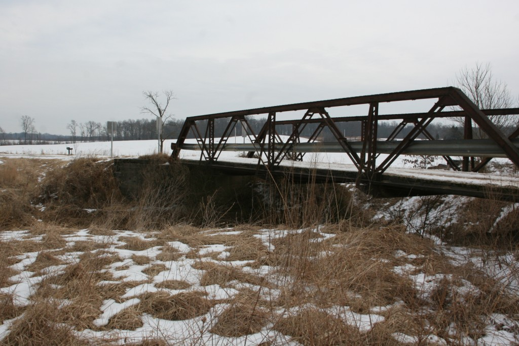 60' long truss bridge