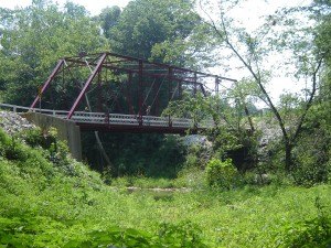 Wilson Bridge over Deer Creek