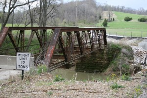 85' pony truss bridge