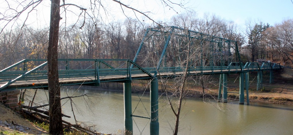 5 span truss bridge